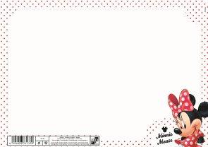 Karton PP Tabulka na psaní - Minnie