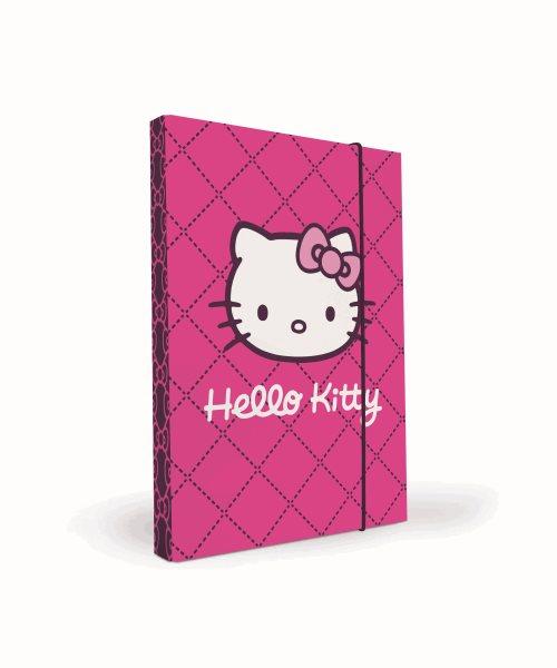 Karton PP Desky na sešity s boxem A5 - Hello Kitty 2014