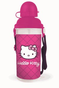 Karton PP Láhev na pití 650ml- Hello Kitty