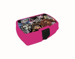 Karton PP Box na svačinu - Monster High 2014