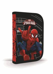 Školní penál - 1 patrový s chlopní - Spiderman