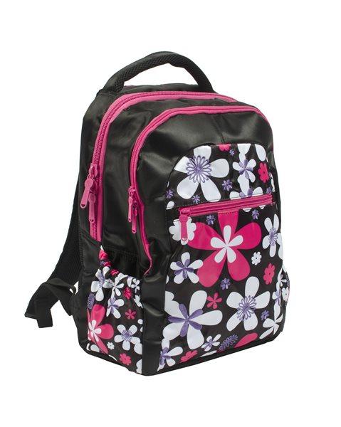 Studentský batoh Soft - Kytky