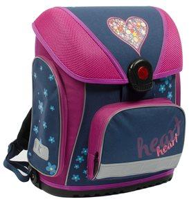 Školní batoh Premium - Srdce