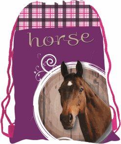 Sáček na cvičky - Kůň