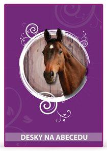 Karton PP Desky na abecedu - Kůň vzor 2014
