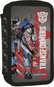 Školní penál - 2 patrový - Transformers