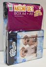 Karton PP SET BOX A4+A5 Pes + dárek sešit 444