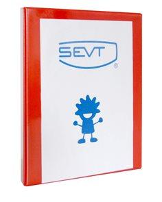 Karton Katalogový vazač Personal 7cm - červený