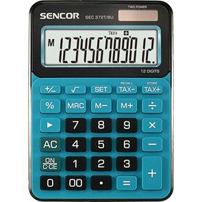 Kalkulačka Sencor SEC 372T BU - modrá