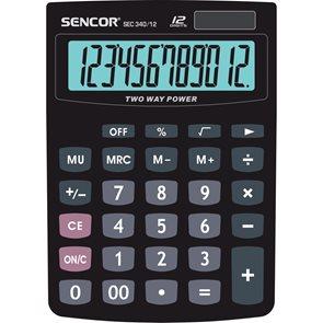Kalkulačka Sencor SEC 340/12