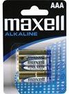 Maxell Alkalická mikrotužková baterie AAA - balení 4 ks blistr