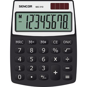 Kalkulačka Sencor SEC 310 - černá