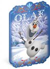 Sešit tvar Olaf A4, 40 listů, nelinkovaný - Frozen