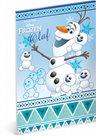 Skicák A4, 50 listů, nelinkovaný - Frozen Olaf