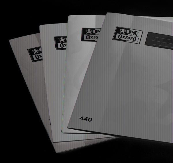 OXFORD Školní sešit 440 nelinkovaný - 40 listů A4