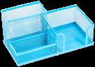 Drátěný stojánek víceúčelový Combo barevný - modrý