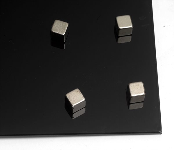 NAGA super silné magnety - krychle, 4 ks