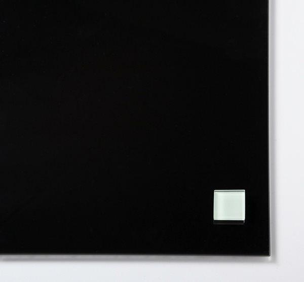 NAGA super silné magnety - sklo, 25 x 25 mm, bílá, 2 ks