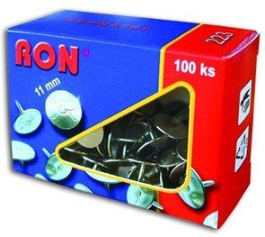 RON Připínáčky 11 mm - 100 ks
