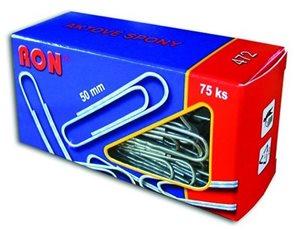 RON Kancelářské sponky 50 mm - 75 ks