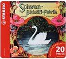 """STABILO Pen 68 Vláknový fix - dárkové balení 20 ks """"Swan"""""""