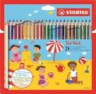 STABILO Trio Pastelky trojhranné silné - 24 barev