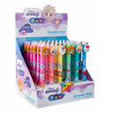Gumovatelné pero Colorino - Emoji Ledové království, mix motivů