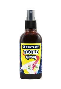 Centropen Barva na textil ve spreji 110 ml - hnědá