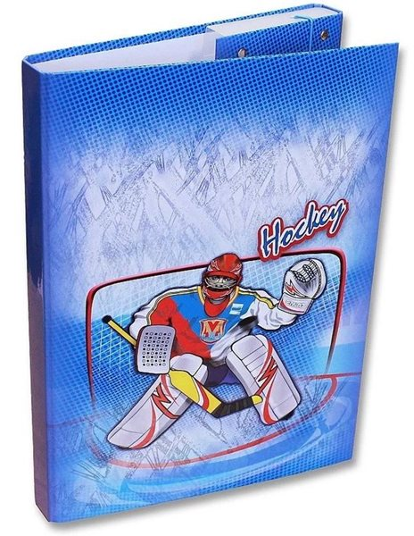 Box na sešity A4 - Hokej