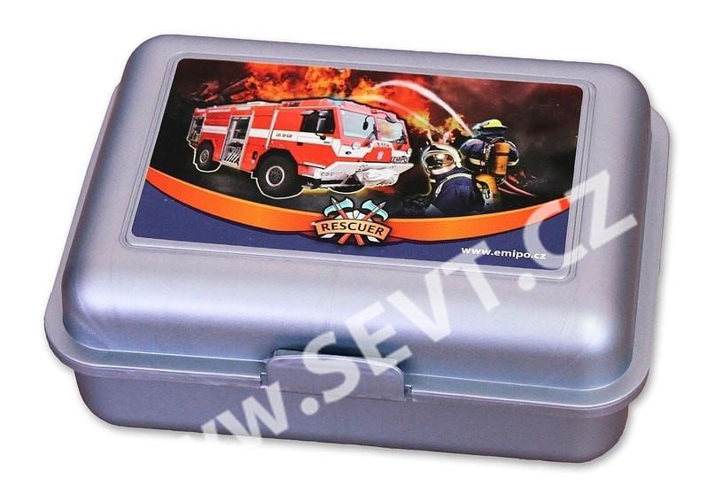 50674d5547f Box na svačinu Emipo - Hasiči Rescuer - SEVT.cz