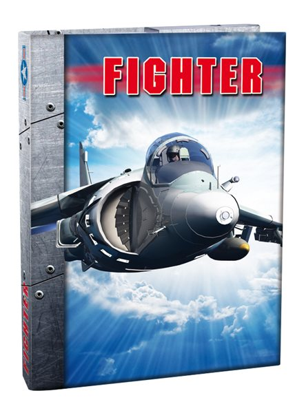 Box na sešity A4 Fighter