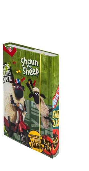 Desky na školní sešity A5 - Ovečka Shaun