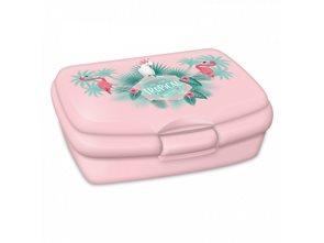 Box na svačinu Ars Una Pink Flamingo
