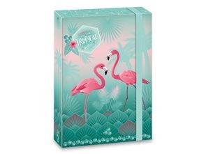 Desky na sešity A5 Ars Una Pink Flamingo