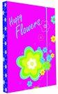 Karton PP Desky na sešity s boxem - Premium květiny 2015