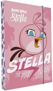 Desky na sešity s boxem A4 - Angry birds Stella