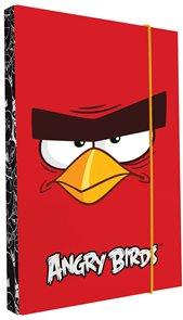 Karton PP Desky na sešity s boxem A4 - Angry birds 2015