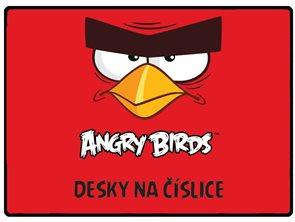 Desky na číslice - Angry birds 2015