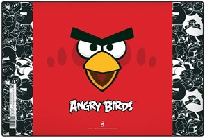 Karton PP Podložka na stůl - Angry birds 2015