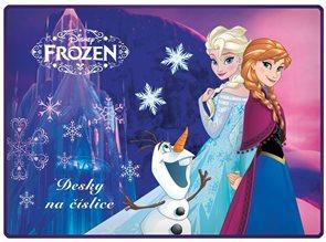 Karton PP Desky na číslice - Frozen - motiv 2015