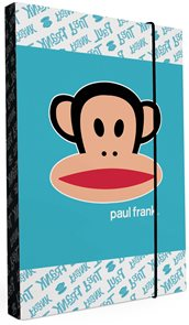 Karton PP Desky na sešity s boxem A4 - Paul Frank Kids