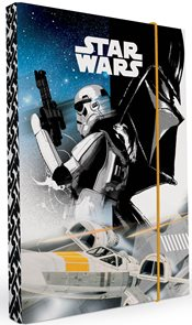 Karton PP Desky na sešity s boxem A4 - Star Wars