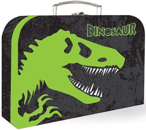"Karton PP Dětský kufřík 35"" - Dinosaurus vzor 2015"