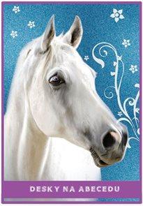 Karton PP Desky na abecedu - Kůň vzor 2015