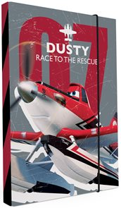 Karton PP Desky na sešity s boxem A4 - Planes / Letadla