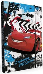 Karton PP Desky na sešity s boxem A4 - Cars 2015
