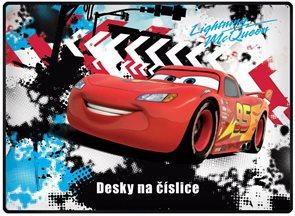 Karton PP Desky na číslice - Cars 2015