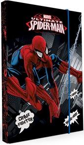 Karton PP Desky na sešity s boxem A4 - Spiderman 2015