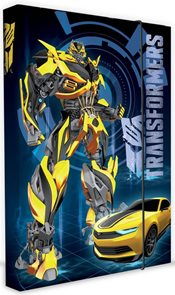Karton PP Desky na sešity s boxem A5 - Transformers