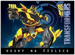 Karton PP Desky na číslice - Transformers 2015